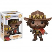 Boneco Funko Pop - Mccree 182 - Overwatch Game - Original