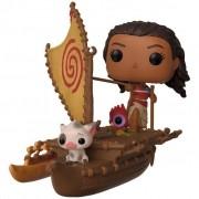 Boneco Funko Pop - Moana e Pua On Boat 62 - Disney Original