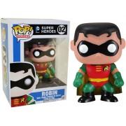 Boneco Funko Pop - Robin 02 - DC Comics Heroes - Original