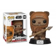 Boneco Funko Pop - Wicket Warrick 290 - Star Wars Original