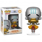 Boneco Funko Pop - Zenyatta 305 - Overwatch Game - Original