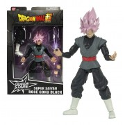 Boneco Goku Black Rose 15cm - Dragon Ball Stars - Bandai