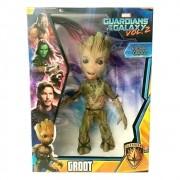 Boneco Guardiões da Galáxia - Baby Groot 45 cm Gigante Mimo