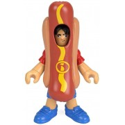 Boneco Homem Hot Dog Imaginext Fisher-Price - Mattel