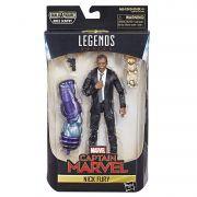 Boneco Marvel Legends - Captain Marvel Nick Fury  - Hasbro