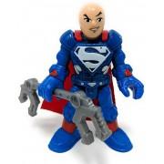 Boneco Lex Luthor Super Traje - Dc Super Friends - Imaginext