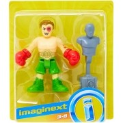 Boneco lutador de Box Imaginext Fisher-Price - Mattel