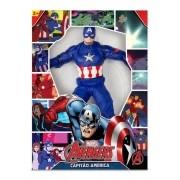 Boneco Marvel Avengers - Capitão América 45 cm - Mimo Toys
