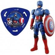 Boneco Marvel Avengers Capitão América Hyper Motions Bandai