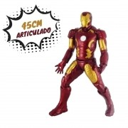 Boneco Marvel Avengers - Homem de Ferro 45 cm - Mimo Toys