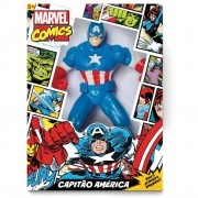 Boneco Marvel Comics - Capitão América 45 cm - Mimo Toys