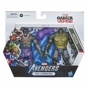 Boneco Marvel Game Verse - Hulk vs Abomination 15cm - Hasbro