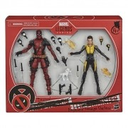 Boneco Marvel Legends - Deadpool e Negasonic - Hasbro E9288