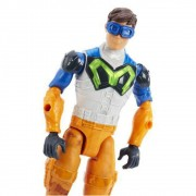 Boneco Max Steel  Especial  30 cm - Ataque Lança Dupla - Mattel