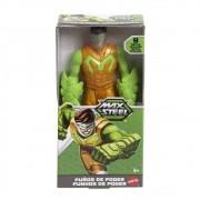 Boneco Max Steel 15cm -  Punch - 9 Articulações - Mattel