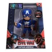 Boneco Metalfigs Marvel Capitao America 10cm - Jada Metals