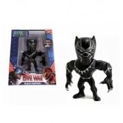 Boneco Metalfigs Marvel-Pantera Negra- 10cm- Jada Metals Die Cast Original