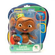 Boneco Mini Beat Power Rockers - Carlos com Som - 14cm BR996