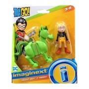 Boneco Jovens Titãs - Mutano e Terra  - Imaginext - Mattel
