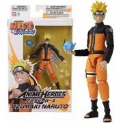 Boneco Naruto Shippuden Anime Heroes - Uzumaki Naruto  - Bandai