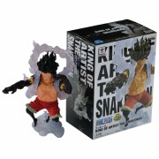 Boneco One Piece - Luffy SnakeMan King of Artist - Banpresto