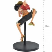 Boneco One Piece - Luffy 15cm - King of Artist - Banpresto