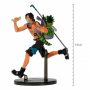 Boneco One Piece - Portgas D Ace - Mania Produce - Banpresto