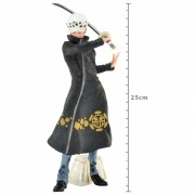 Boneco One Piece - Trafalgar Law 25 cm - Materlise Banpresto