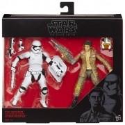 Poe Dameron and Stormtrooper Star Wars Black Series - Hasbro