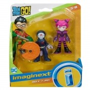 Boneco Jovens Titãs Red X e Jinx - DC - Imaginext - Mattel