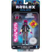 Boneco Roblox - Digital Artist e Acessórios + Código Virtual