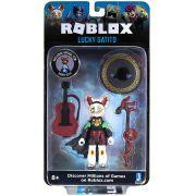 Boneco Roblox - Lucky Gatito e Acessórios + Código Virtual