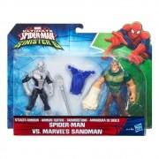 Boneco Spider Man - Homem Aranha X Homem Areia 15cm - Hasbro