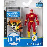 Boneco The Flash - DC 3 Acessorios Misteriosos - Spin Master