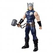 Boneco Thor com Martelo - Marvel - 25 cm - Original Hasbro