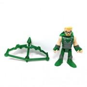 Boneco Arrow Arqueiro Verde - Dc Super Friends  - Imaginext