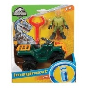 Bonecos maginext - Jurassic World - Pack Cuatrimoto - Mattel