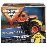 Monster Jam Rev´n Roar  Carro com Som - El Toro Loco - Sunny
