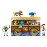 Brinquedo Toy Story - Baú do Andy - 4 Bonecos - Disney Pixar