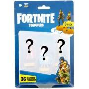 Carimbos Surpresa Fortnite - Pack com 3 Carimbos - Sunny