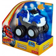 Carro Blaze Monster Machines - Slam Go Crusher Fisher Price