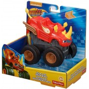 Carro Blaze Monster Machine Slam Go Rhino Blaze Fisher Price