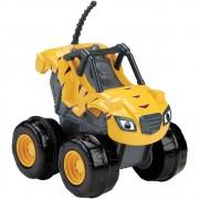 Carro Blaze Monster Machines - Slam Go Stripes Fisher Price