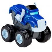 Carro Blaze Monster Machines - Slam Go Crusher Fisher Price