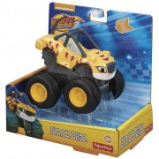Carro Blaze Monster Machines - Slam Go Stripes Fisher Price