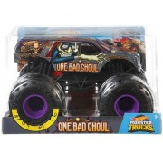 Carro Hot Whells Monster Truck 1:24 - One Bad Choul - Mattel
