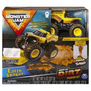 Carro Monster Jam - Earth Shaker - Monster Dirt Starter Set Escala 1:64 - Sunny Original