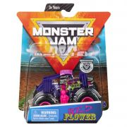 Carro Monster Jam Truck - Wild Flower - Escala 1:64 Original