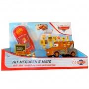 Carros Kit Mcqueen e Mate Roda Livre e Acessórios - Toyng