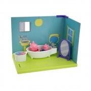 Cenário da Peppa - Banheiro Peppa Pig e George - Sunny 2303